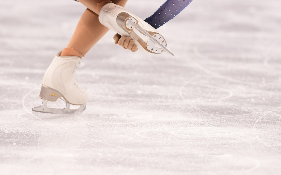 Patinage artistique (illustration)