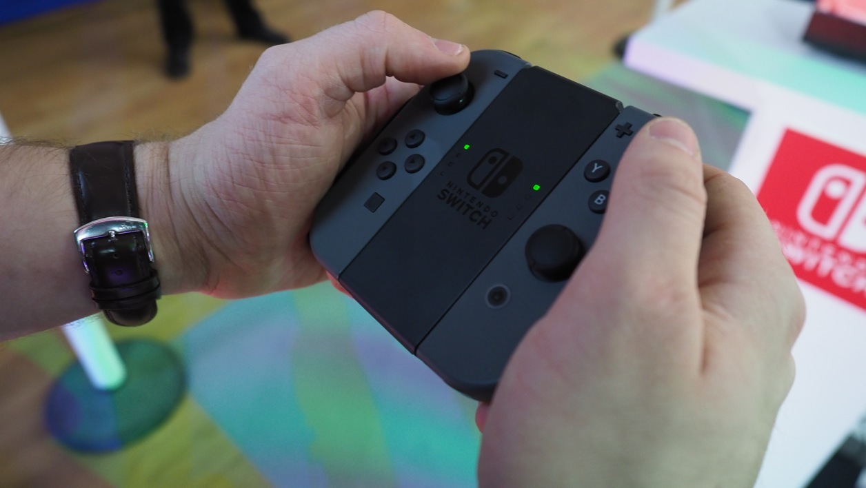 Nintendo Switch, le Grip