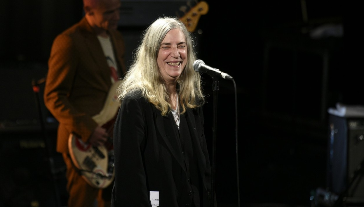 Patti Smith, le 4 décembre 2015 à Paris
