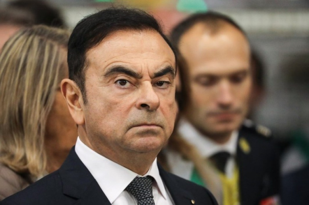 Image d'illustration Carlos Ghosn - Ludovic Marin - AFP