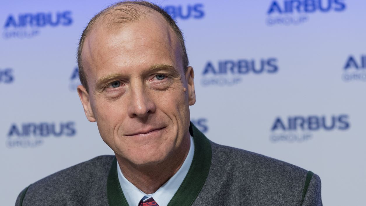 Tom Enders, le patron d'Airbus Group