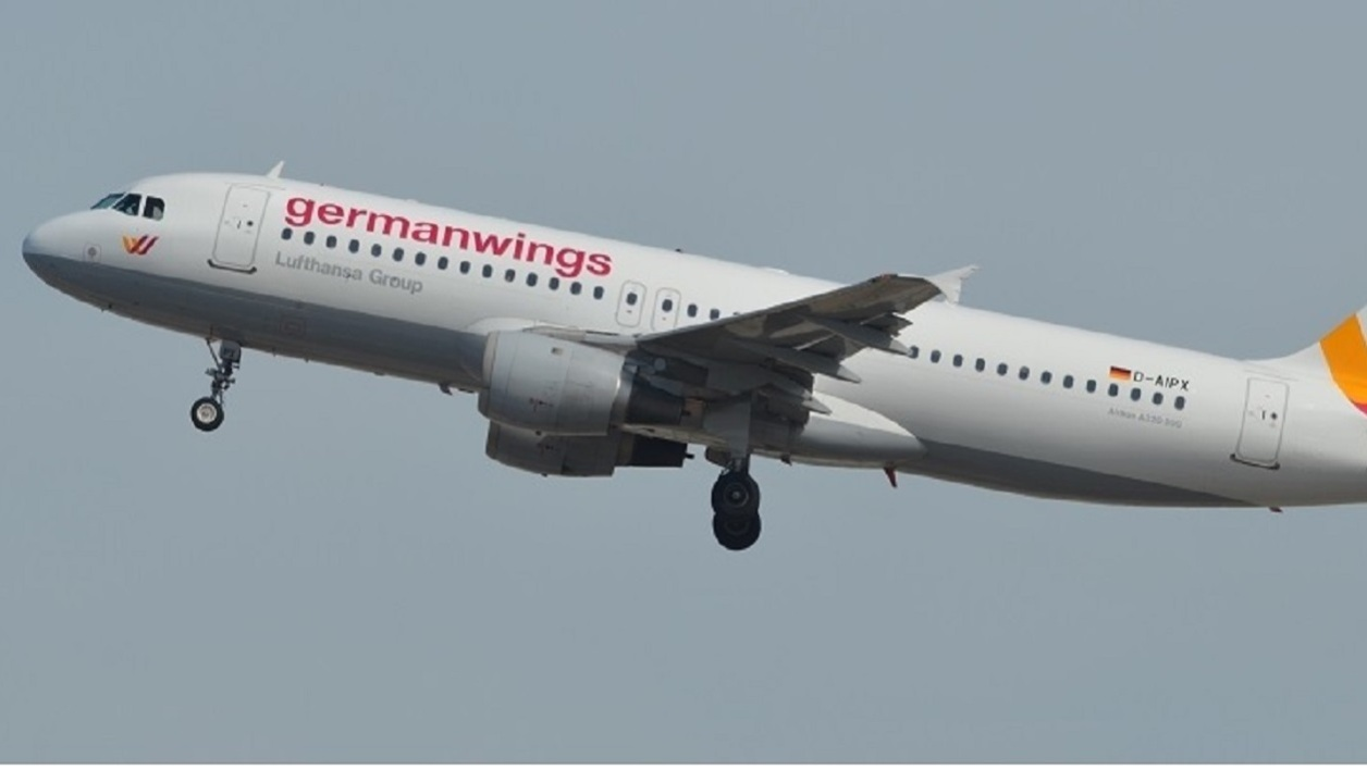 L'avion de la Germanwings
