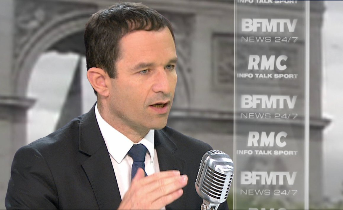 Benoît Hamon face à Apolline de Malherbe: le live tweet de l'interview