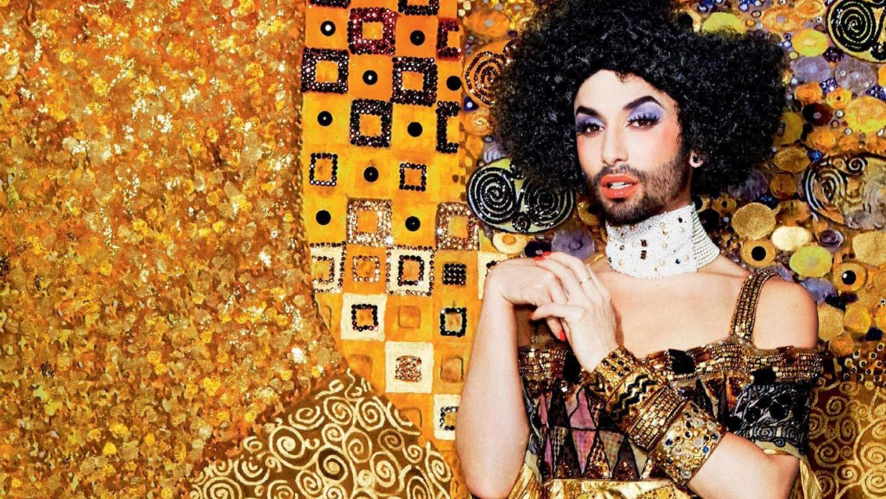 life ball conchita wurst klimt