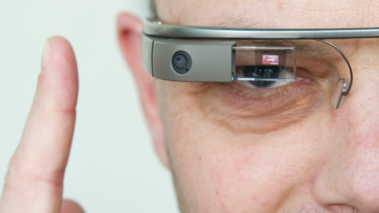 Un homme avec des Google Glass le 24 avril 2013 à Berlin (illustration). - © Ole Spata - DPA - AFP