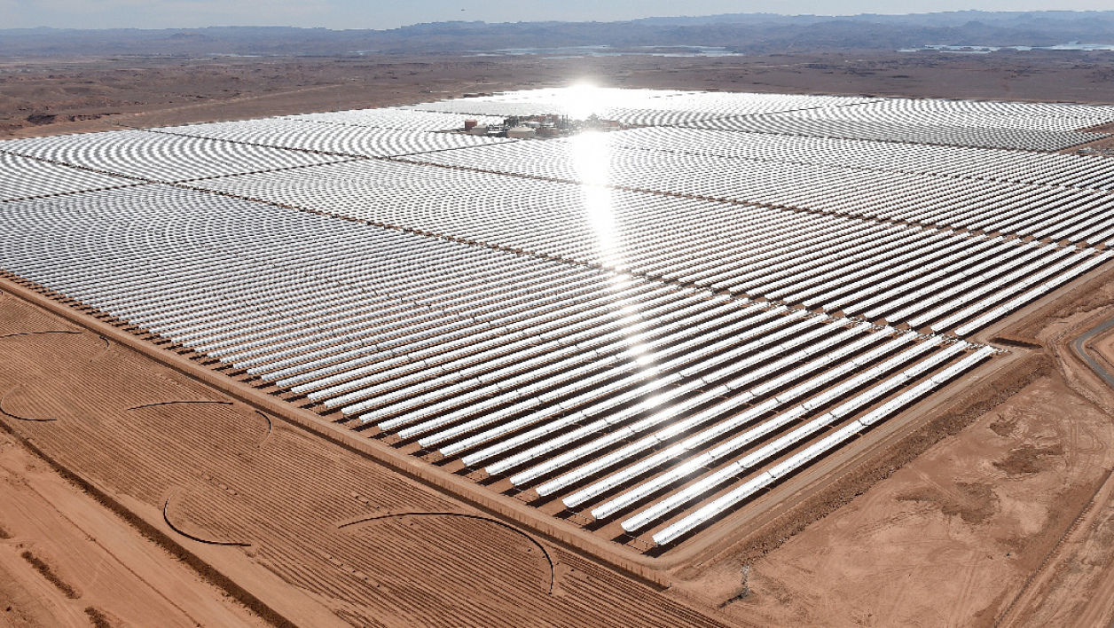 Centrale solaire Noor