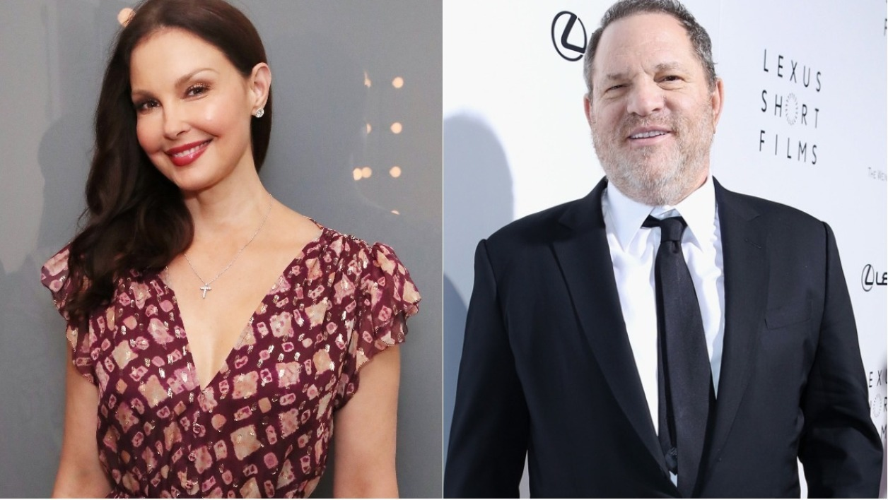 Ashley Judd et Harvey Weinstein