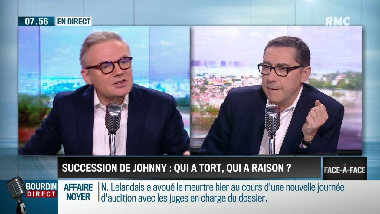 """Brunet & Neumann"": qui a tort, qui a raison sur la succession de Johnny?"