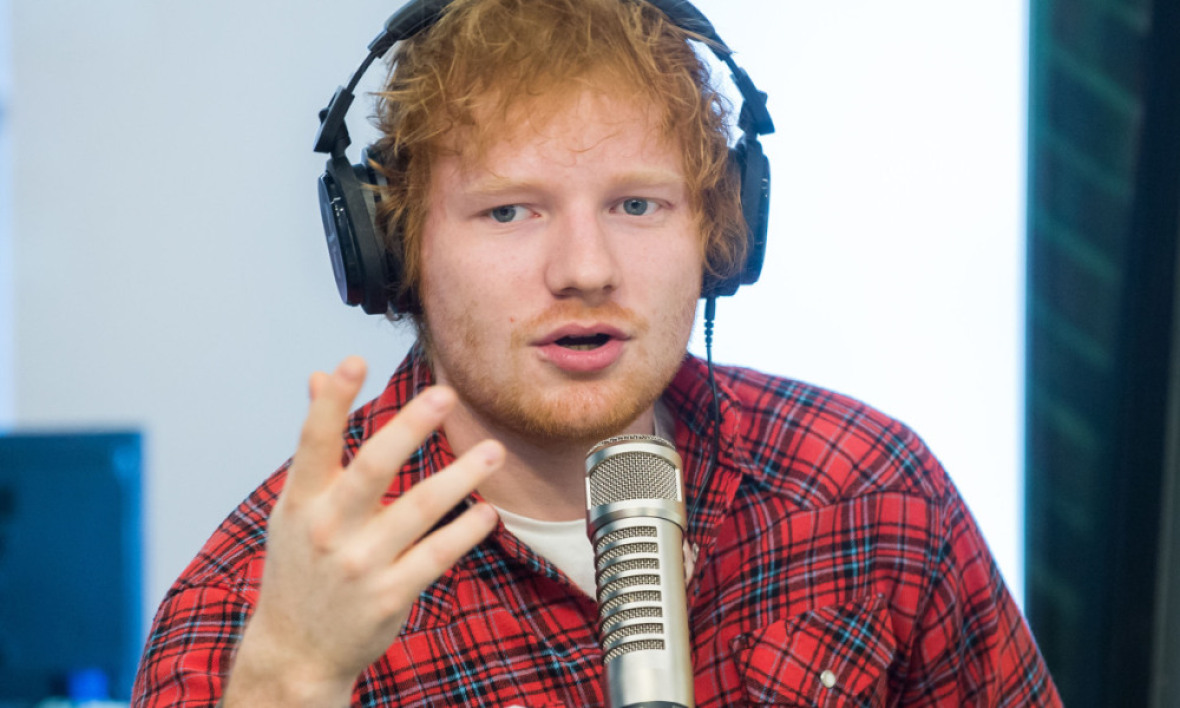 Le chanteur Ed Sheeran