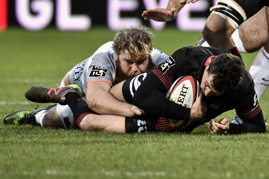 Top 14: le Stade toulousain dispose du LOU