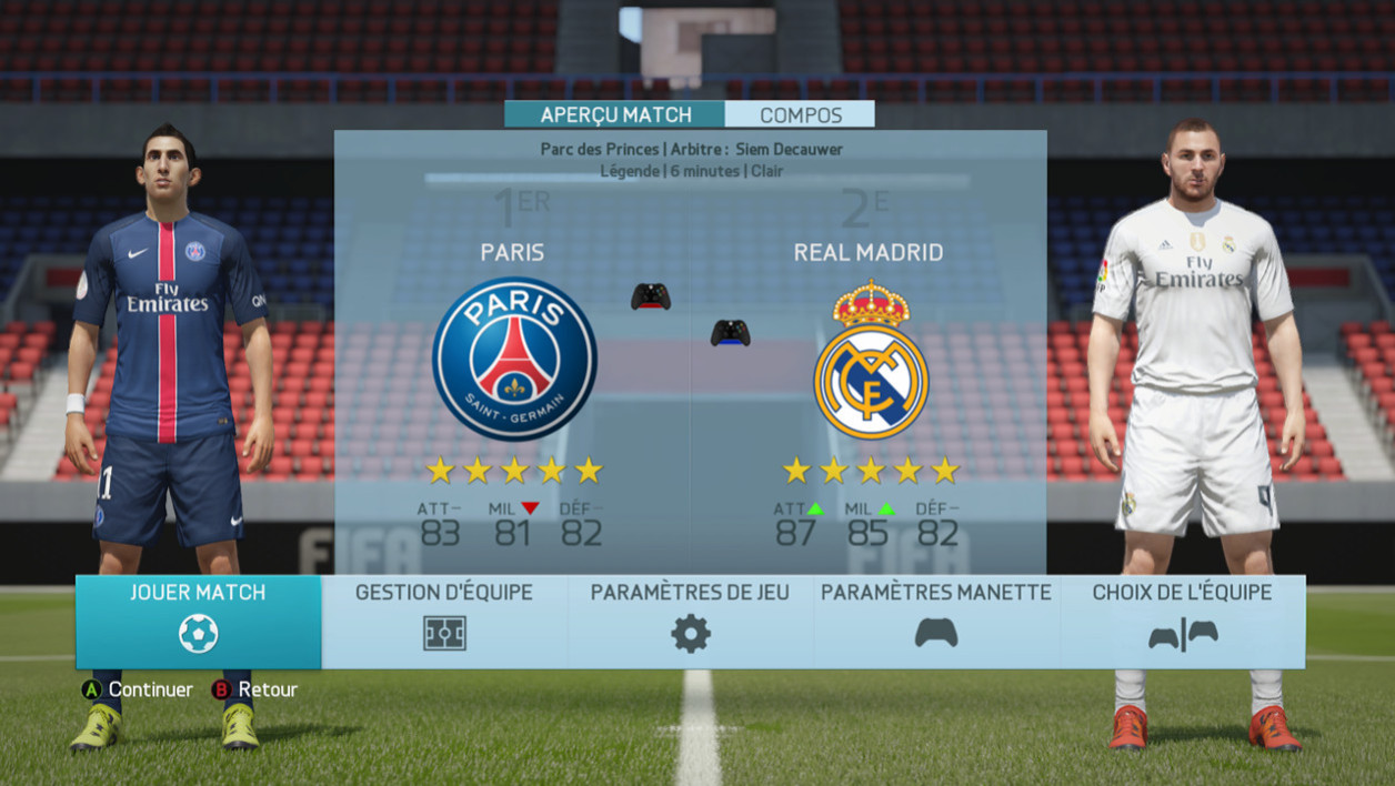 Le choc PSG-Real Madrid
