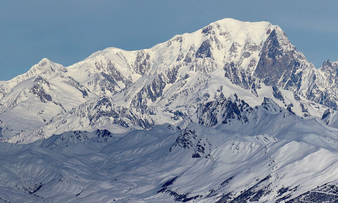Le Mont-Blanc. (photo d'illustration) - Wikimedia -