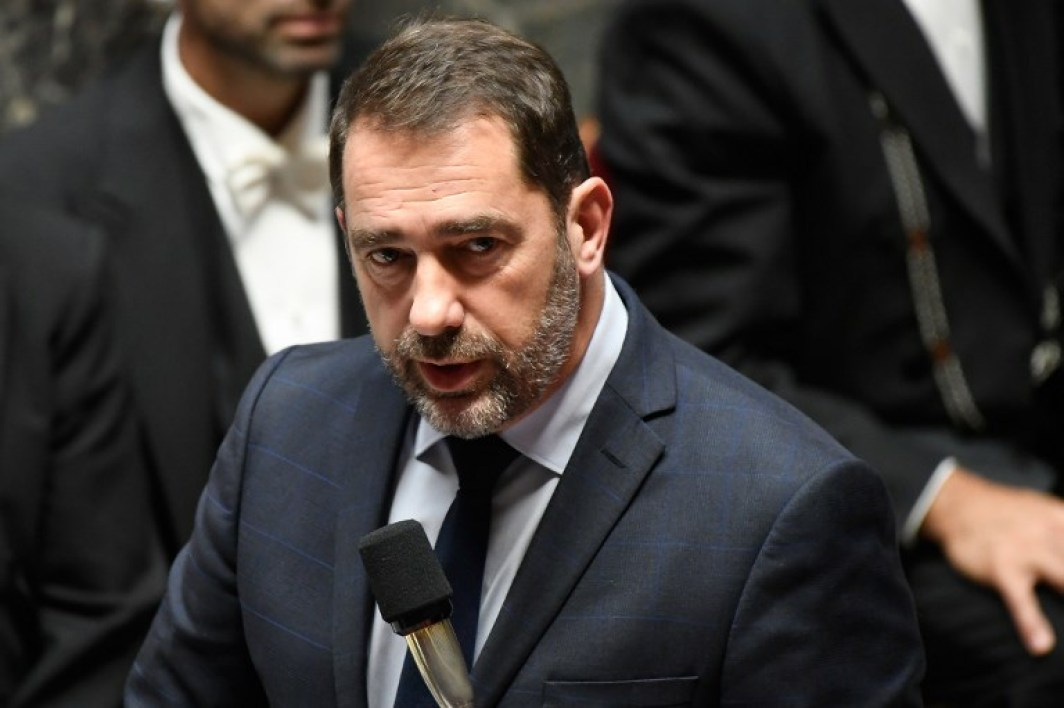 French Interior Minister Christophe Castaner speaks during a session of questions to the Government at the French National Assembly in Paris on November 6, 2018.  Lionel BONAVENTURE / AFP