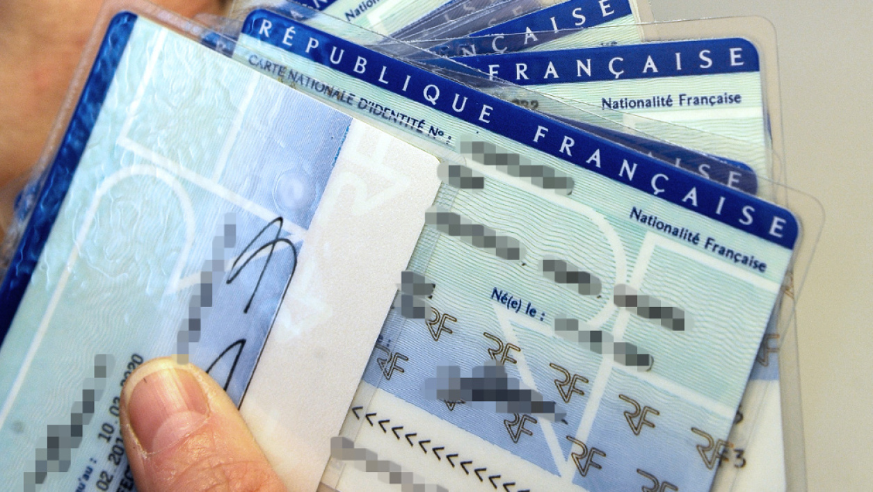Cartes d'identité. (illustration)