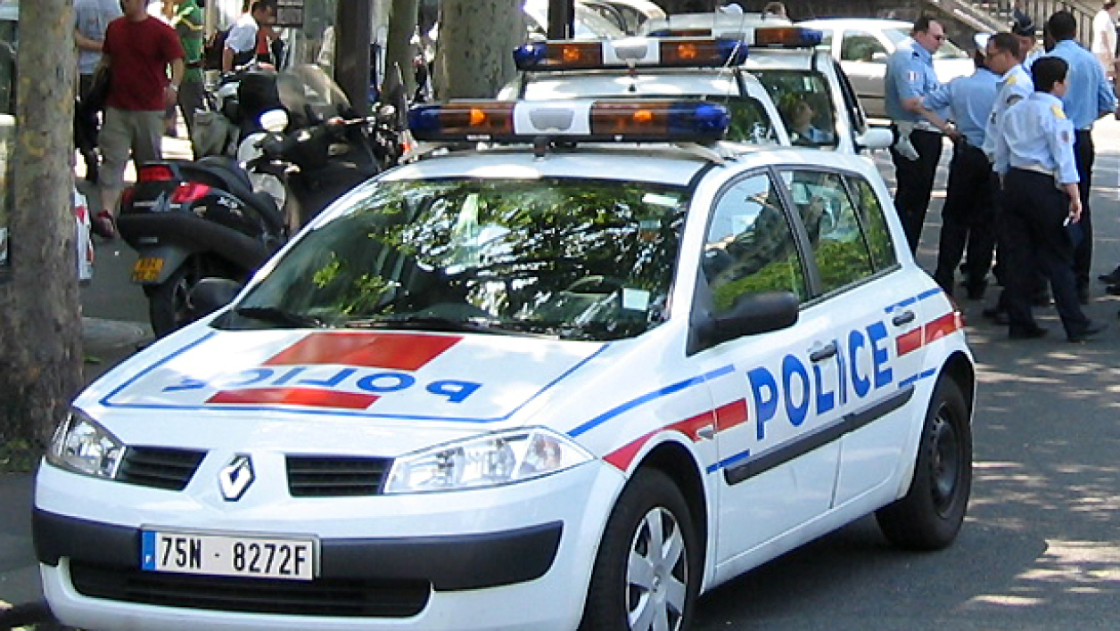 Voiture de police. (illustration)