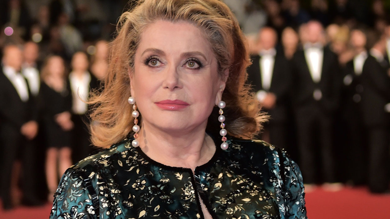 Catherine Deneuve à Cannes