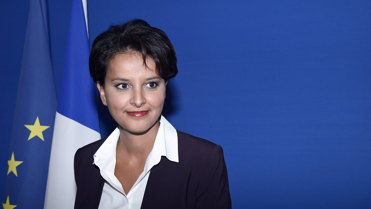 Najat Vallaud-Belkacem, ministre de l'Education nationale, le 25 août 2015.