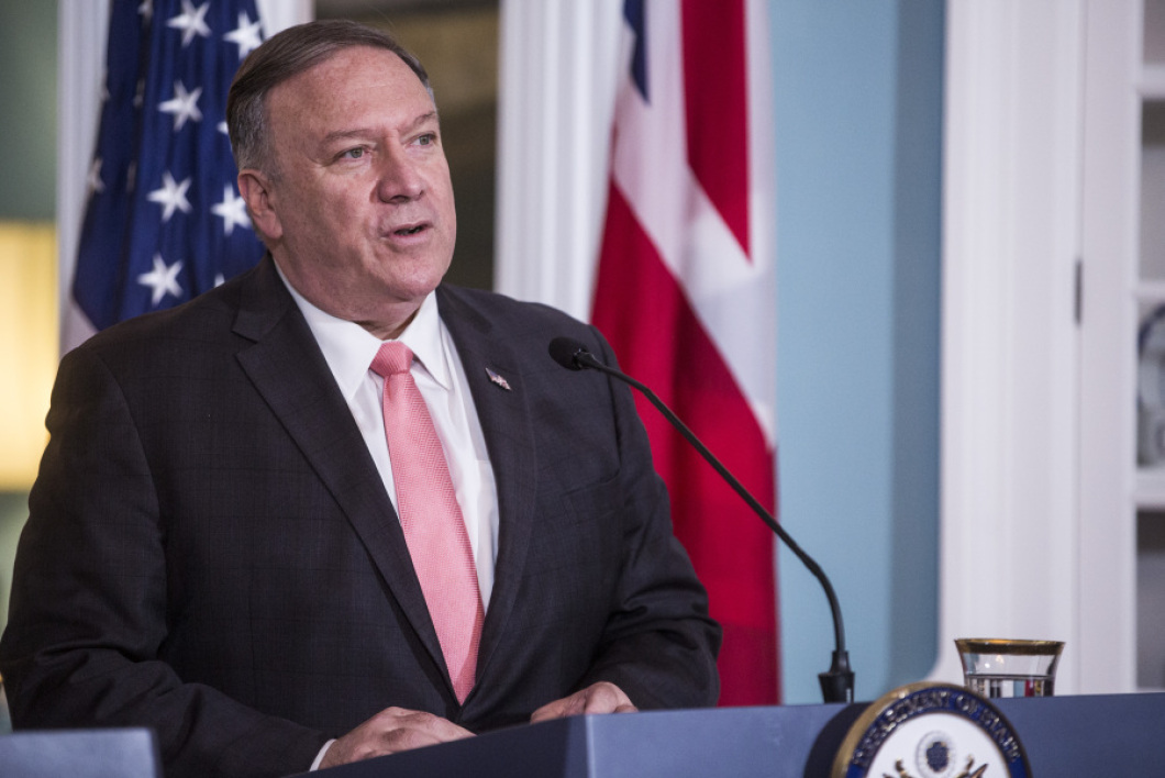 Mike Pompeo - Zach Gibson / GETTY IMAGES NORTH AMERICA / AFP