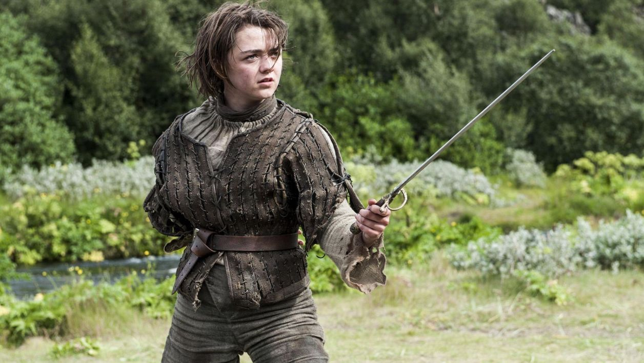 "Arya dans ""Game Of Thrones"""