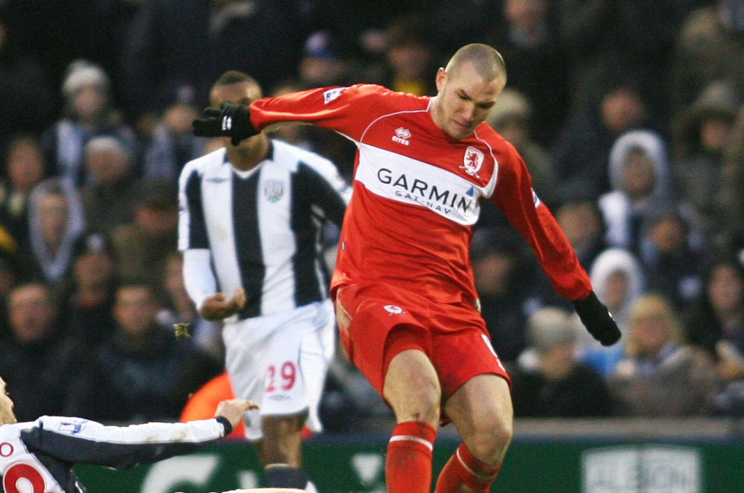 Didier Digard avec Middlesbrough