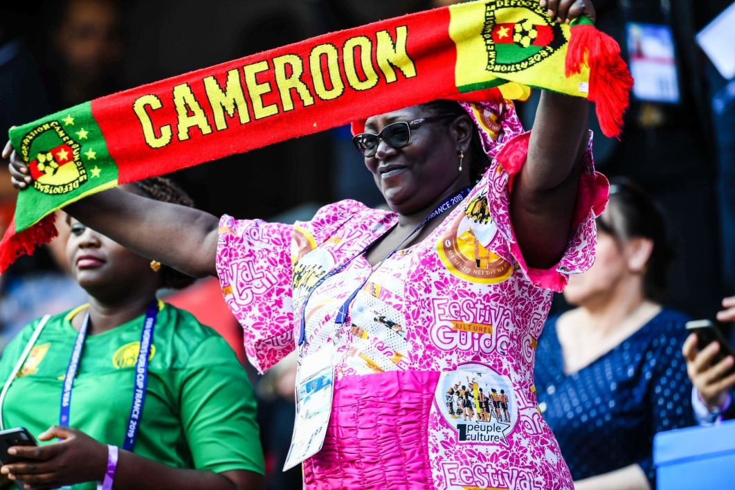 Supporters Cameroun