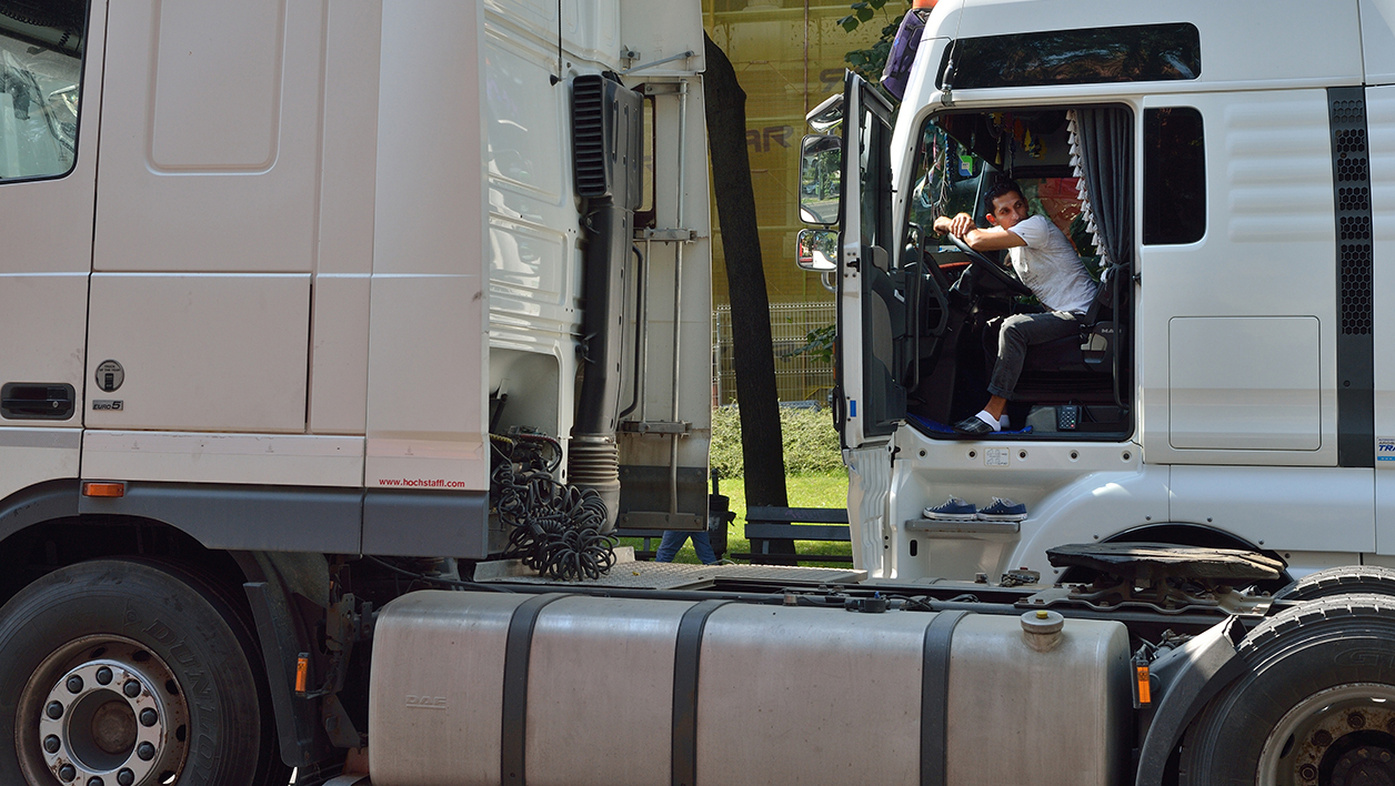 Routiers camions