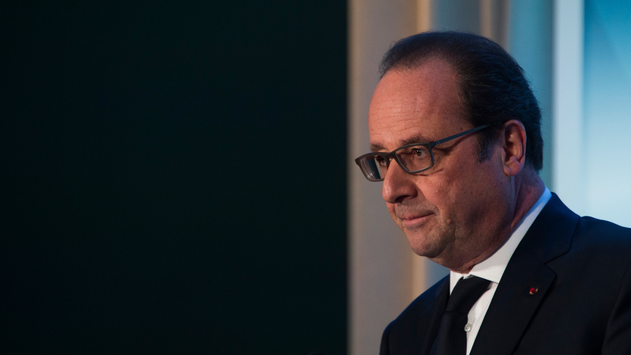 François Hollande, le 1er avril 2016.
