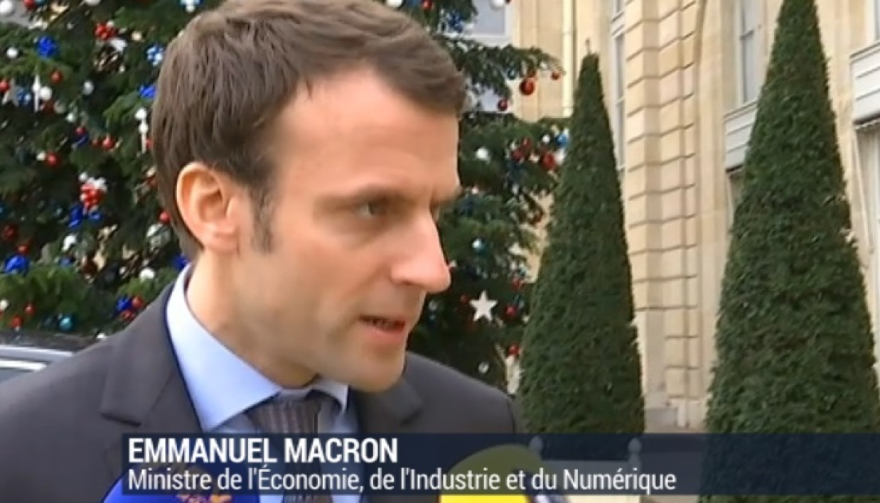 General Electric GE Emmanuel Macron Alstom