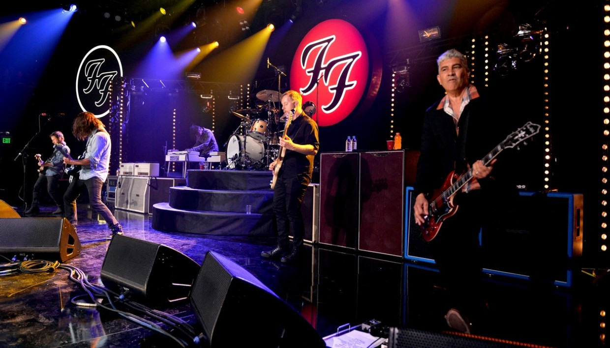 Concert des Foo Fighters, le 17 mars 2015