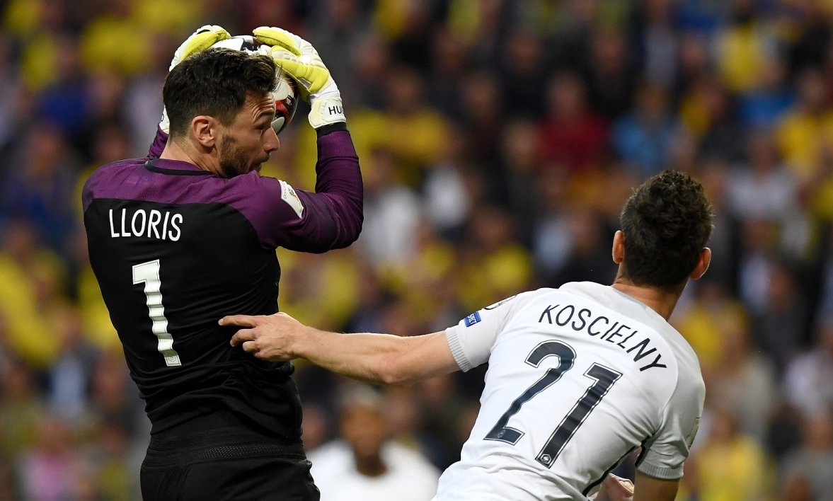 Hugo Lloris et Laurent Koscielny