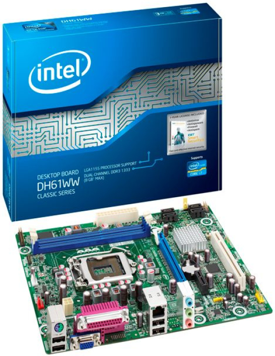 Fiche technique Intel DH61WW