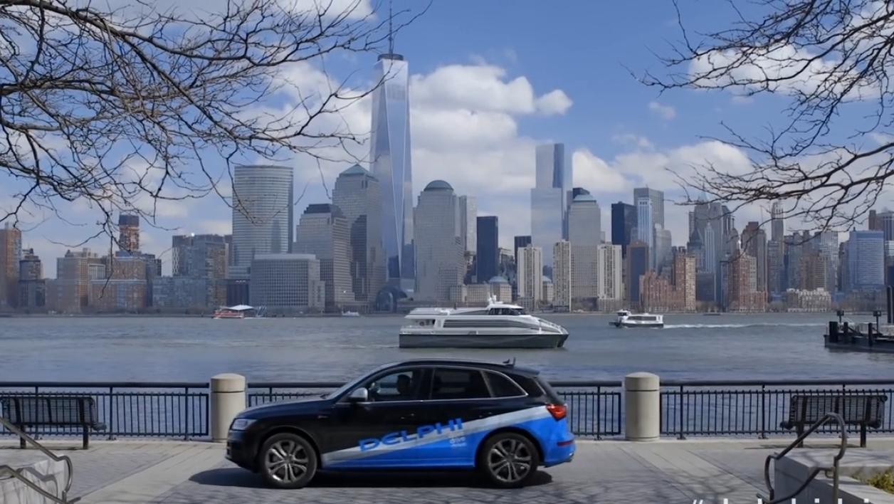 voiture autonome Audi Etats-Unis, New York San Francisco conducteur