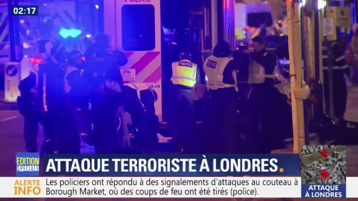 Attaque de Londres : 6 morts, 48 blessés, 3 assaillants abattus