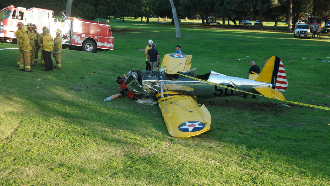 Harrison Ford, avion, crash