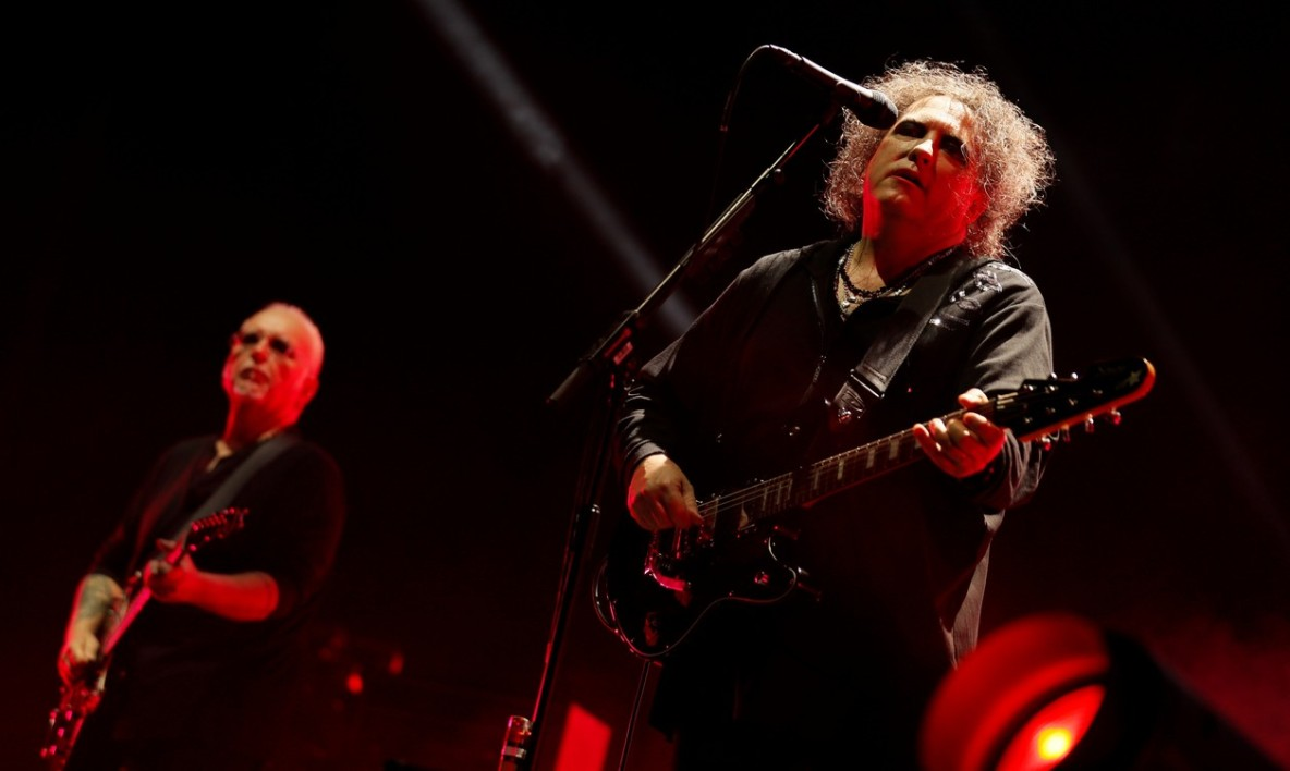 The Cure sur scène à Paris, le 15 novembre 2016