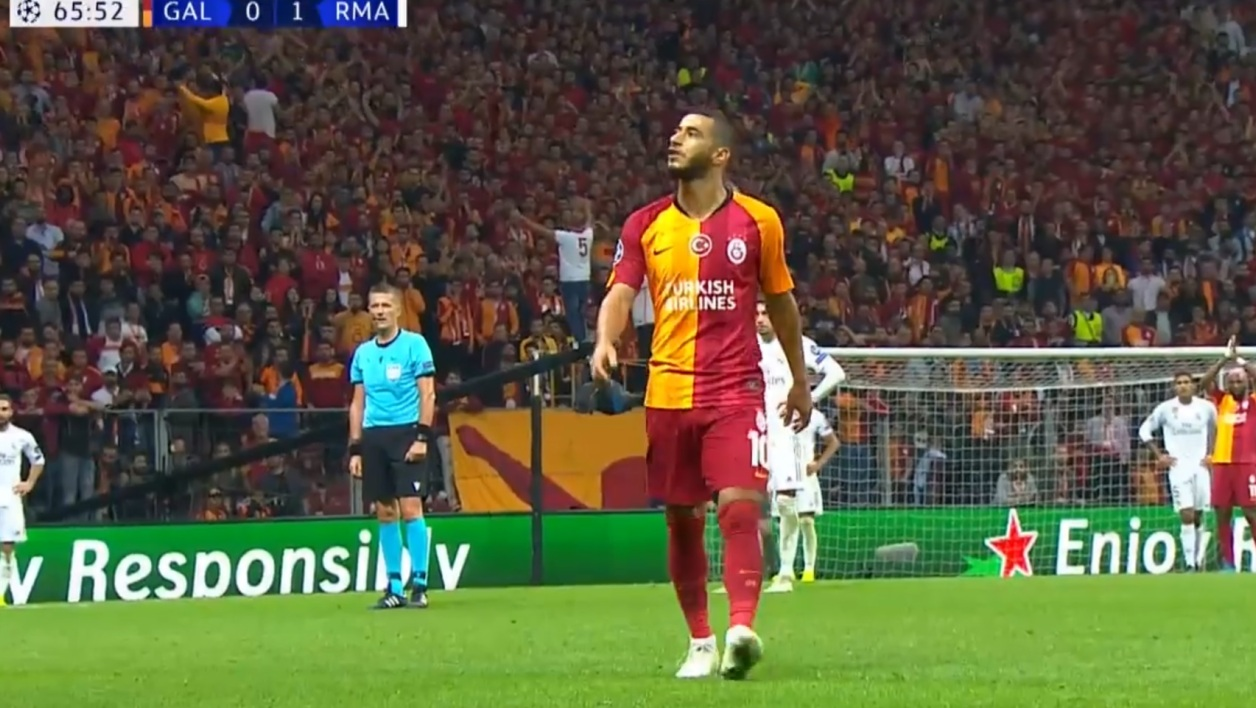 Galatasaray-Real Madrid: sifflé à sa sortie, Belhanda insulte les supporters