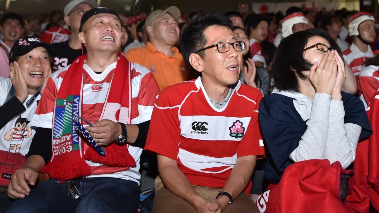 Coupe du monde: le Japon bat le record d'audience pour un match de rugby