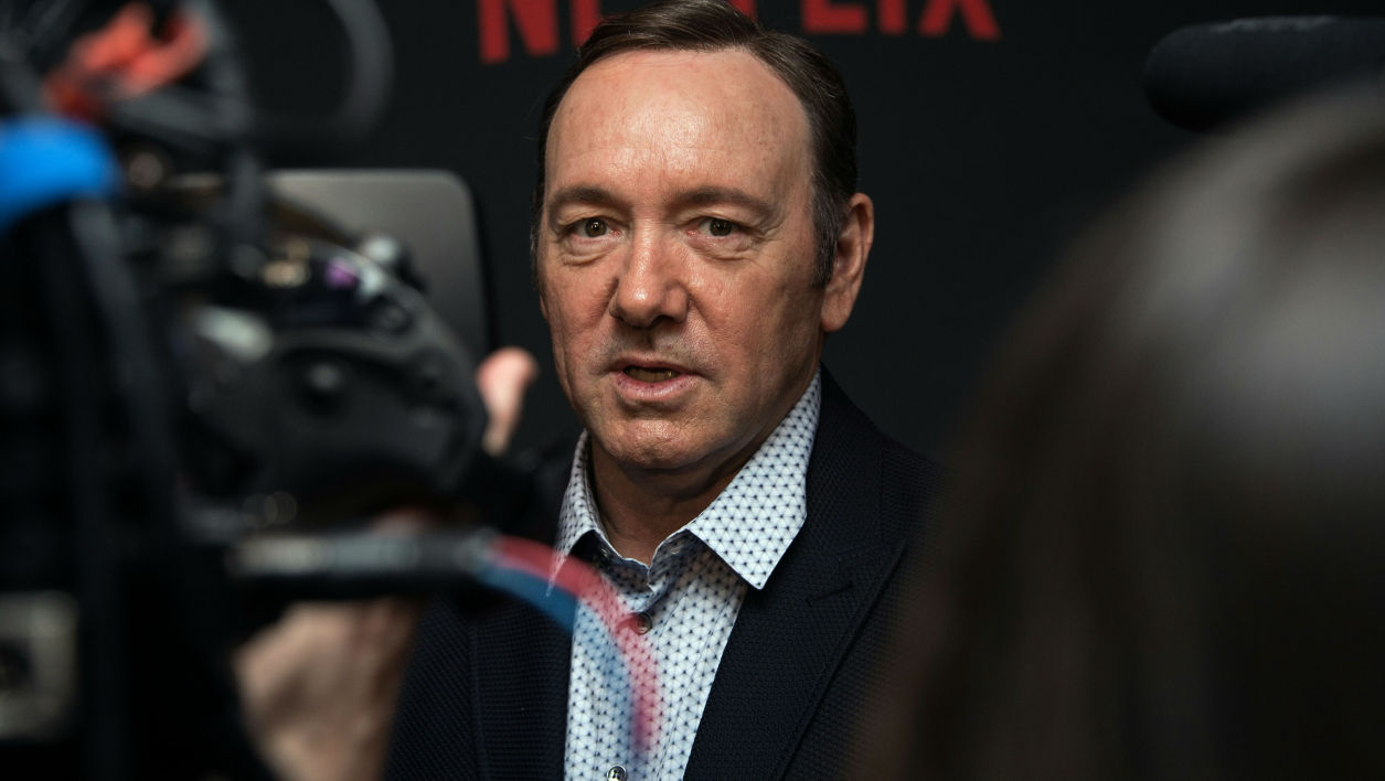 Kevin Spacey à Washington en 2016