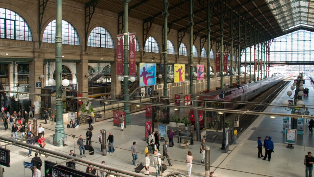 Photo d'illustration. La Gare du Nord, à Paris