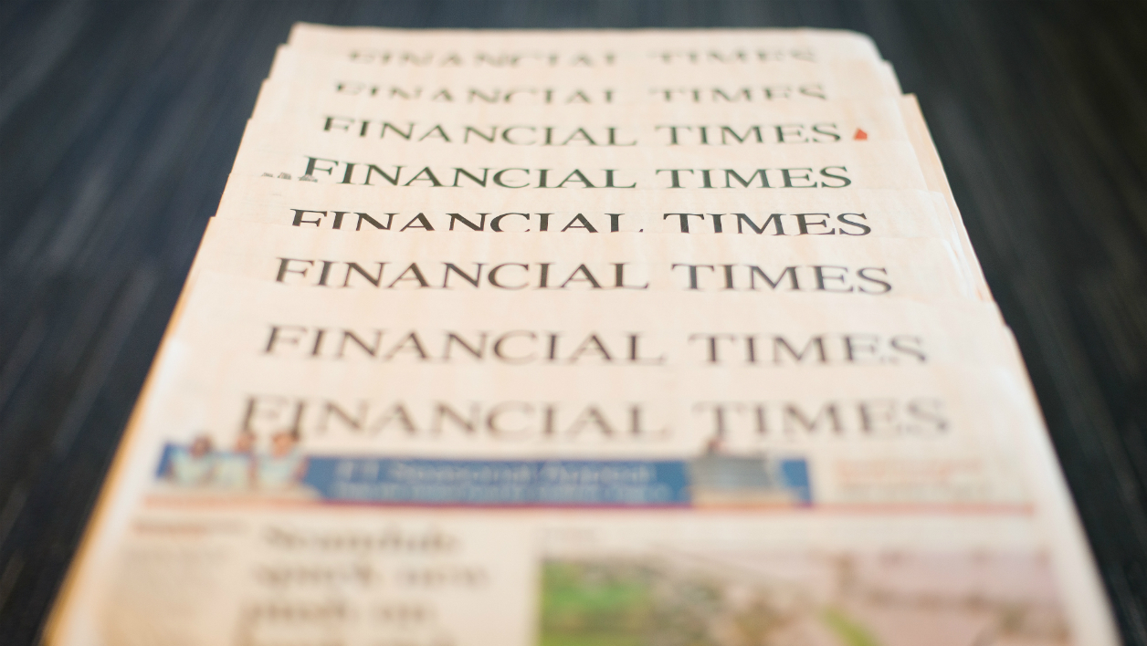 Le Financial Times officiellement à vendre