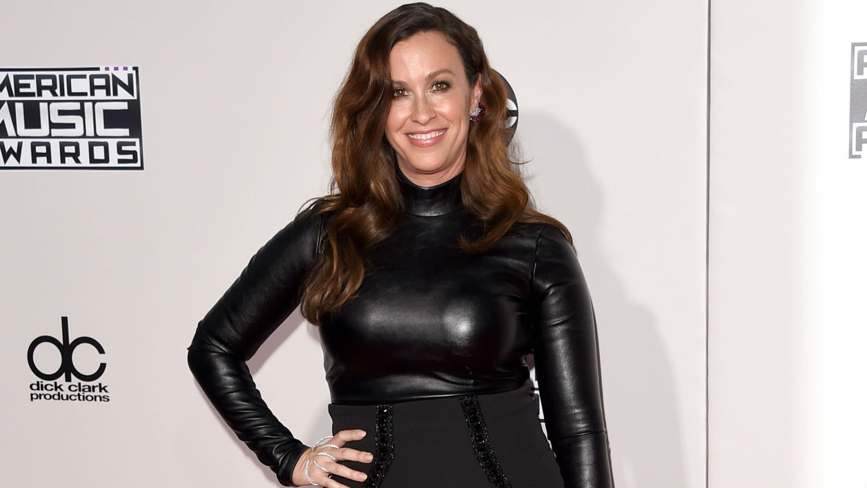 Alanis Morissette aux American Music Awards à Los Angeles en 2015