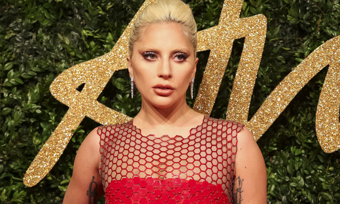 Lady Gaga aux British Fashion Awards 2015