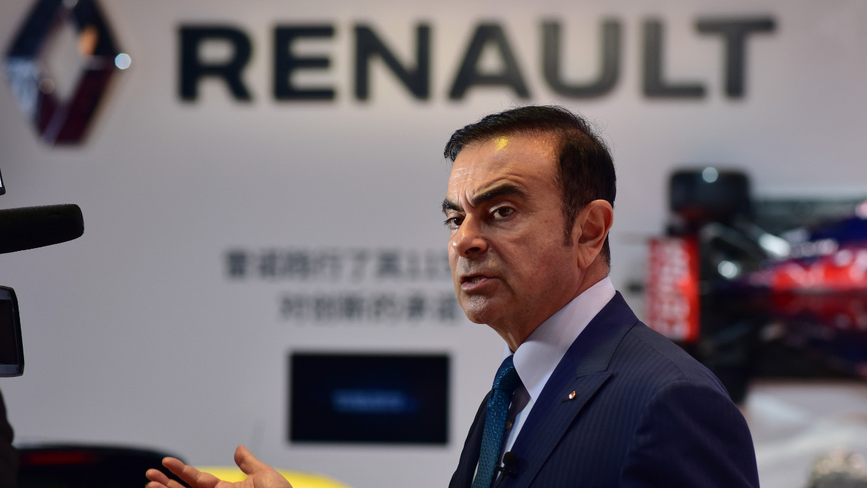 Carlos Ghosn, PDG de Renault, le 20 avril 2015.