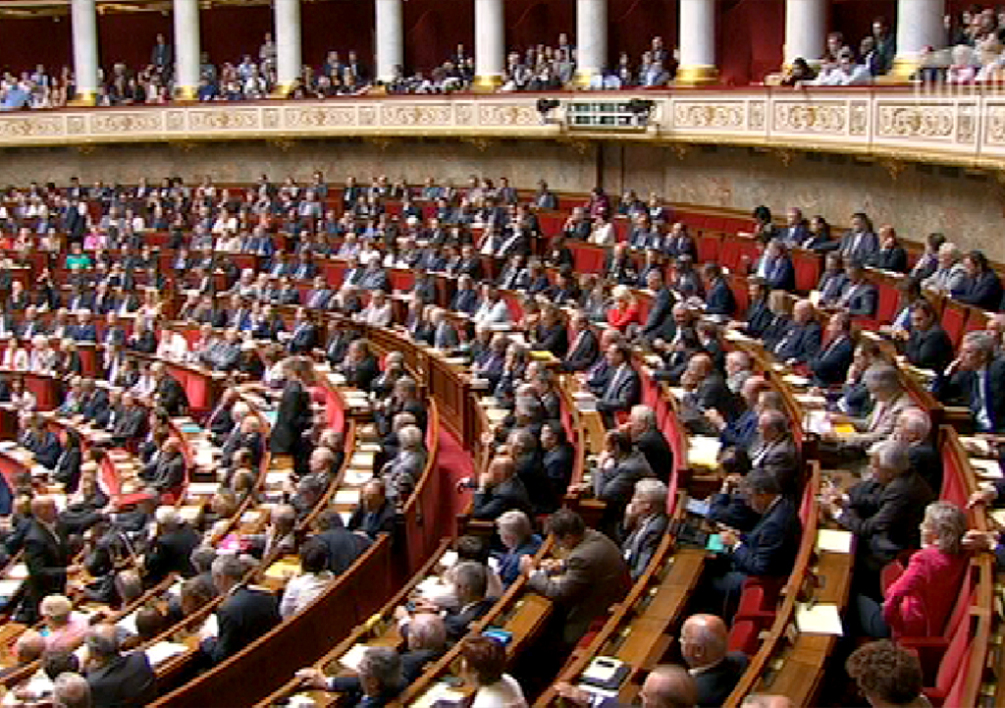 Assemblée nationale Twitter