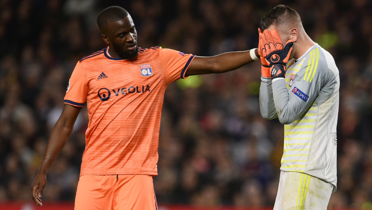 Tanguy Ndombélé Anthony Lopes