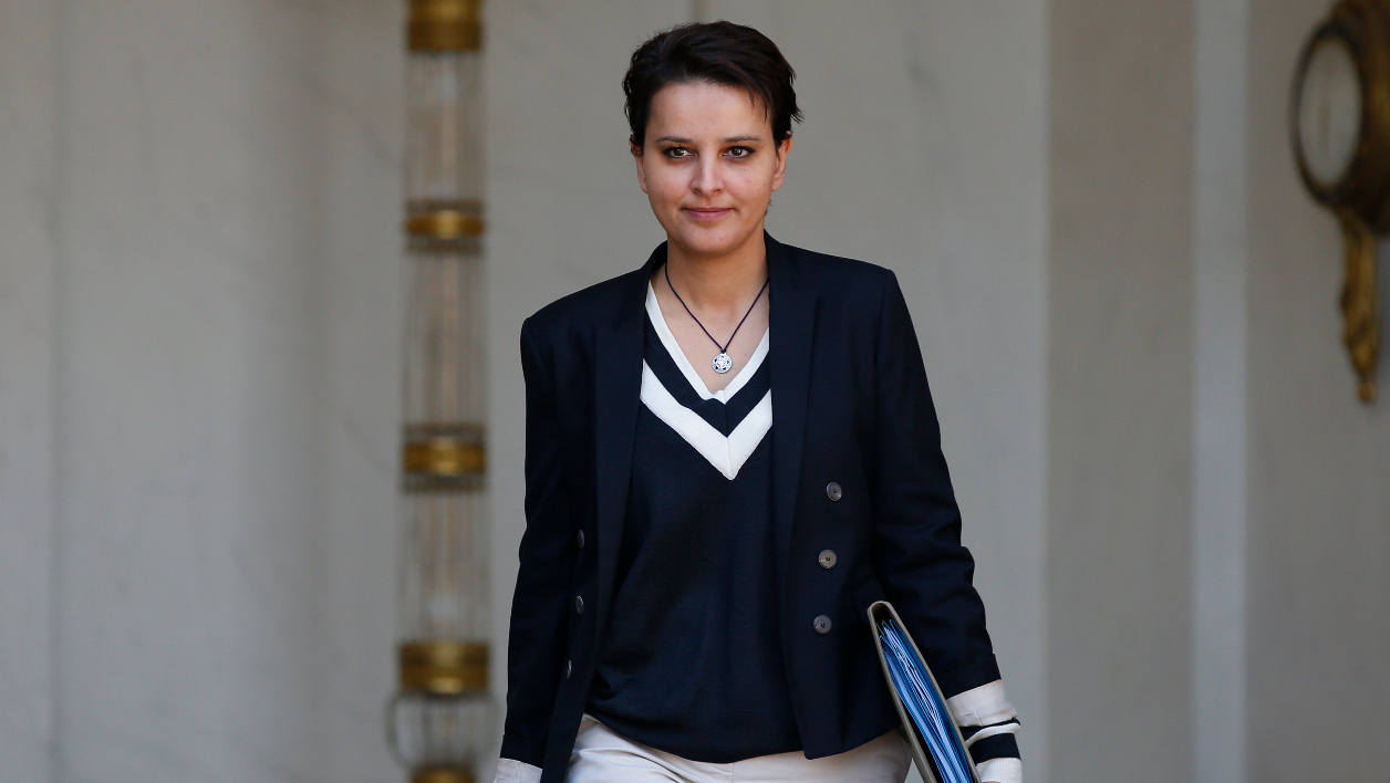 Najat Vallaud-Belkacem, ministre de l'Education