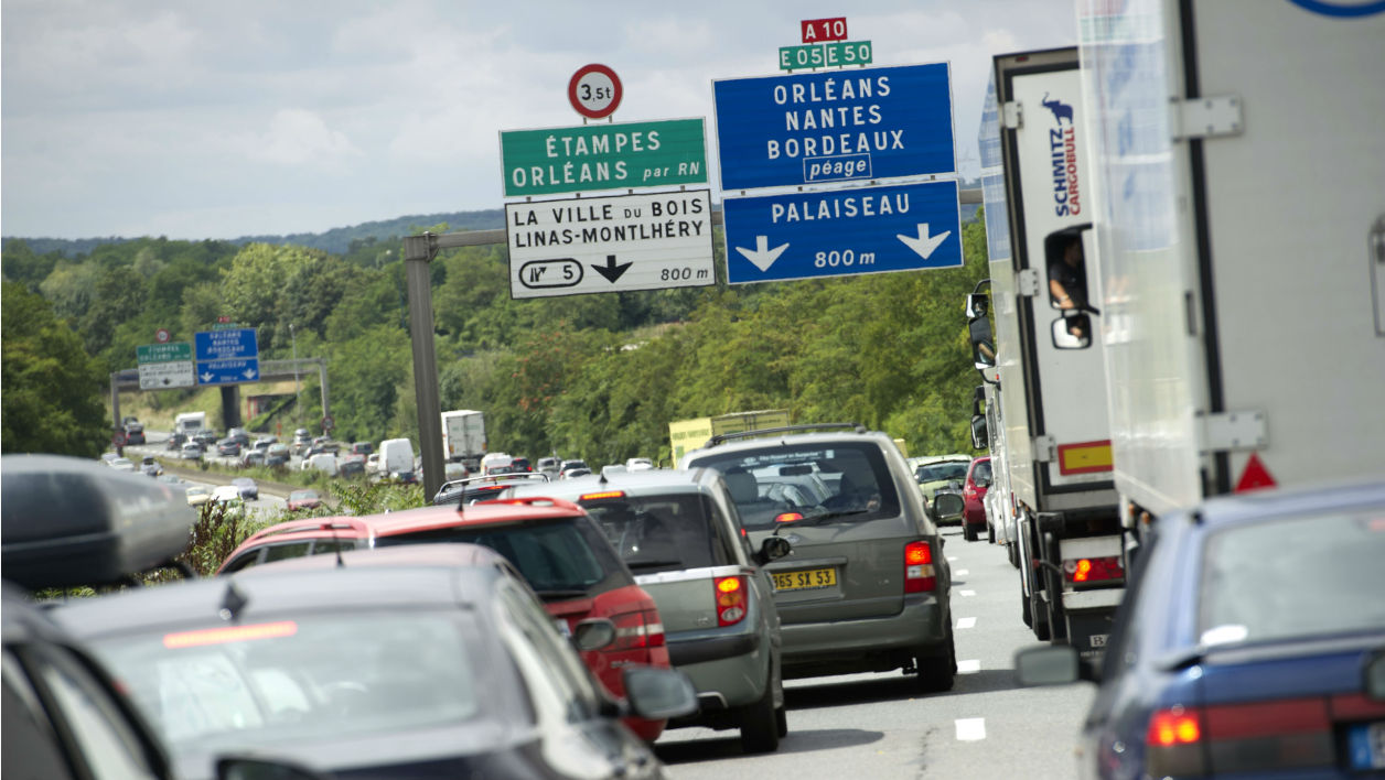 6.500 capteurs mesurent le trafic en Ile-de-France.