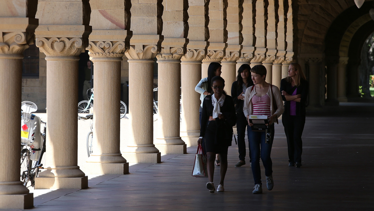 (photo d'illustration) Sur le campus de l'université Stanford, en 2014.