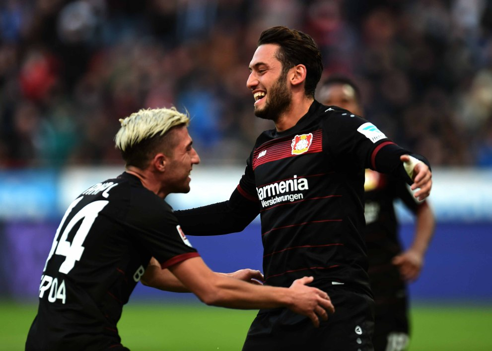 Bayer : lourde suspension pour Calhanoglu !