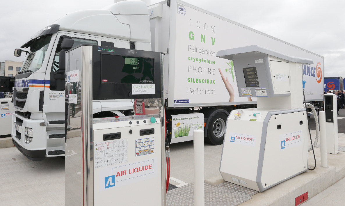 Air Liquide station-service carburants alternatifs